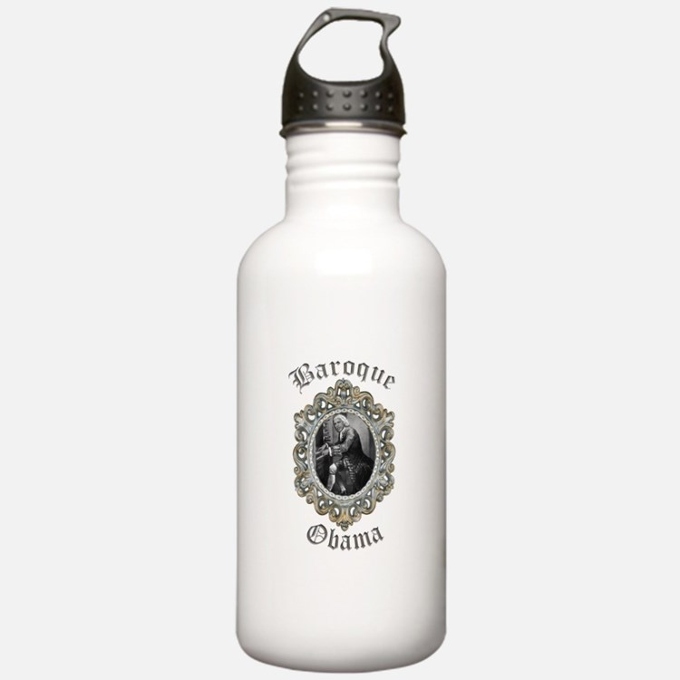 Baroque Obama Water Bottle