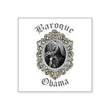 Baroque Obama Sticker