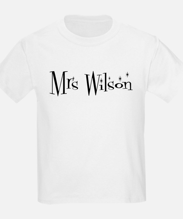 Mrs Wilson  Kids T-Shirt