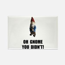 Gnome You Didnt Rectangle Magnet (10 pack)