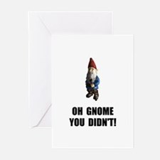 Gnome You Didnt Greeting Cards (Pk of 20)