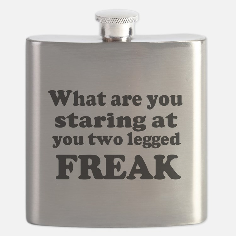 Two legged Freak Flask
