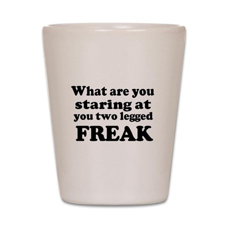Two legged Freak Shot Glass