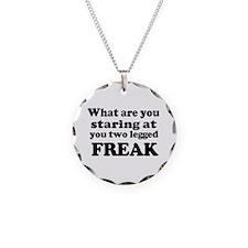 Two legged Freak Necklace