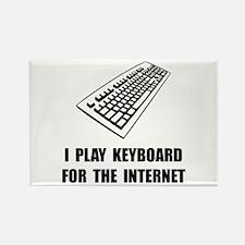 Keyboard Internet Rectangle Magnet (10 pack)