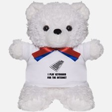 Keyboard Internet Teddy Bear