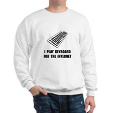 Keyboard Internet Sweatshirt