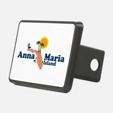 Anna Maria Island - Map Design. Hitch Cover