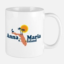 Anna Maria Island - Map Design. Small Small Mug