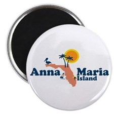 Anna Maria Island - Map Design. Magnet