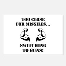 Missiles To Guns Postcards (Package of 8)