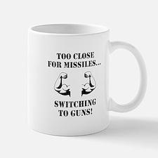 Missiles To Guns Mug