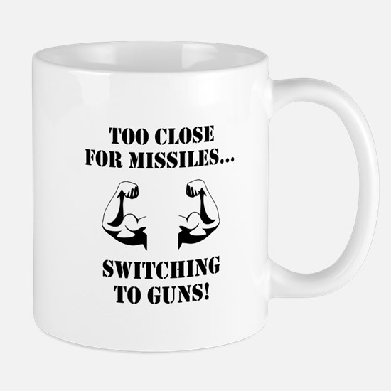 Missiles To Guns Mug