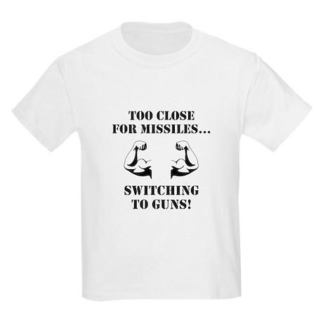 Missiles To Guns T-Shirt