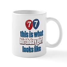 77 year old birthday girl designs Mug