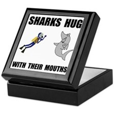 Sharks Hug Keepsake Box