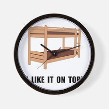 Top Bunk Bed Wall Clock