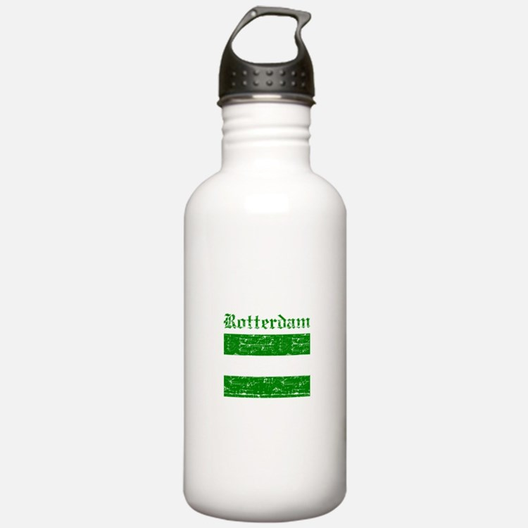 Rotterdam City Flag Water Bottle