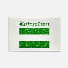 Rotterdam City Flag Rectangle Magnet