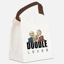 Doodle Lover Canvas Lunch Bag