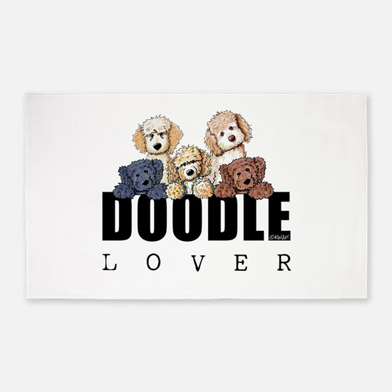 Doodle Lover 3'x5' Area Rug