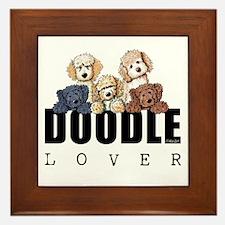 Doodle Lover Framed Tile