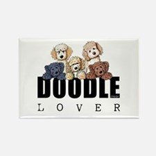 Doodle Lover Rectangle Magnet