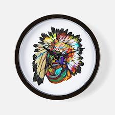 Cute Sioux Wall Clock