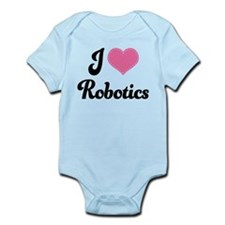 I Love Robotics Infant Bodysuit