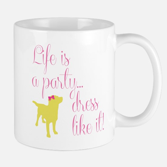 Preppy Puppy Mug