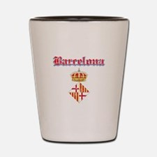 Barcelona designs Shot Glass