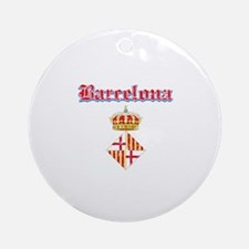 Barcelona designs Ornament (Round)