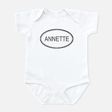 Annette Oval Design Infant Bodysuit