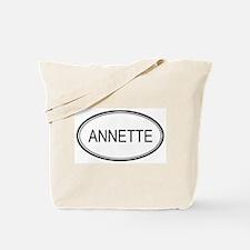 Annette Oval Design Tote Bag