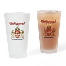 Budapest designs Drinking Glass