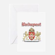 Budapest designs Greeting Card