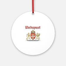 Budapest designs Ornament (Round)