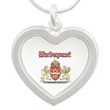 Budapest designs Silver Heart Necklace