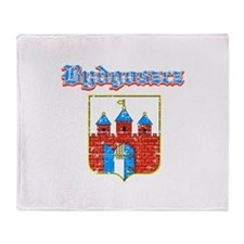 Bydgoszcz designs Throw Blanket