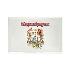 Copenhagen designs Rectangle Magnet