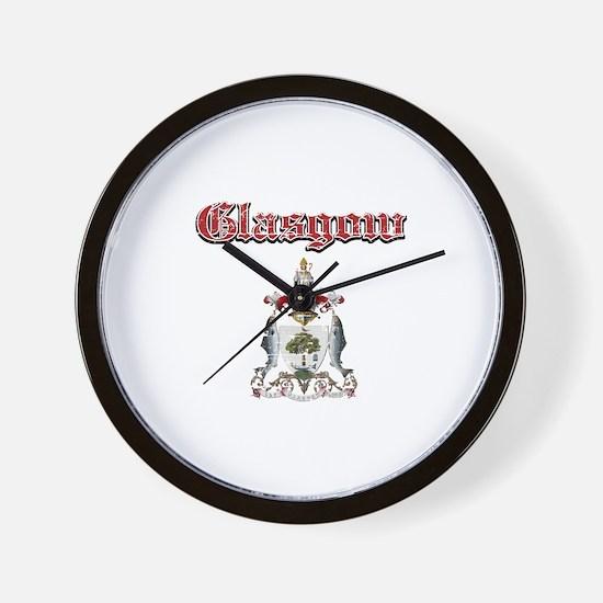 Glasgow designs Wall Clock