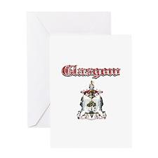 Glasgow designs Greeting Card