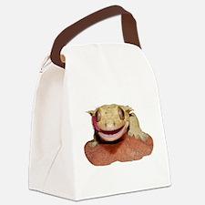 Cute Lizard Canvas Lunch Bag