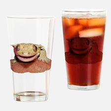 Cute Lizard Drinking Glass