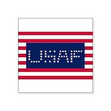 "USAF Square Sticker 3"" x 3"""
