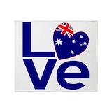 Flag of australia Blankets