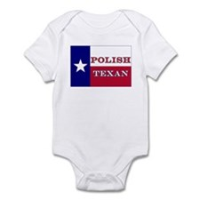 Polish Texan Texas Flag Infant Bodysuit