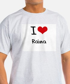 I Love Raina T-Shirt