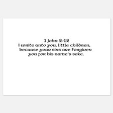 1 John 2:12 Flat Cards