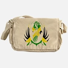 Jamaican Lion Messenger Bag